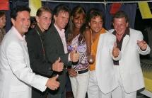 Gerhard Riegler,Gotty Beer, Kurt Elsasser, Naddel, Peter Swoboda, Robert Blaha
