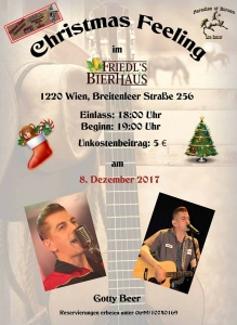 Country Feeling X-Mas @ Friedls Bierhaus