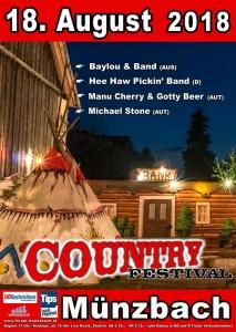 Manu Cherry & Gotty Beer @ Country City Münzbach | Münzbach | Oberösterreich | Österreich