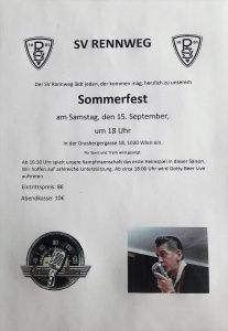 Sommerfest SV Rennweg @ SV Rennweg