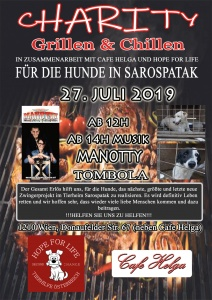 Charity - Grill & Chill @ Cafe Helga