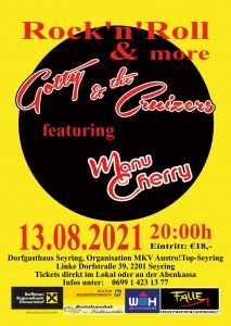 Gotty & the Cruizers feat. Manu Cherry @ Dorfgasthaus Seyring